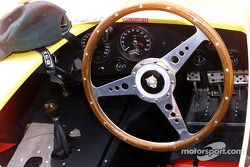 Tableau de bord de la Jaguar D-Type