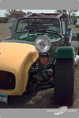 Lotus 7 front