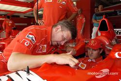 Ross Brawn et Michael Schumacher