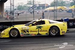 Race winner Butch Leitzinger