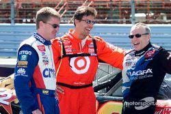 Jeff Burton, Scott Pruett y Mark Martin