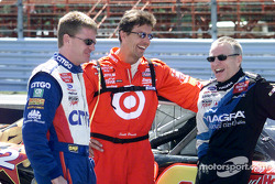 Jeff Burton, Scott Pruett y Mark Martin