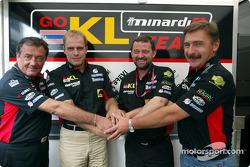 Giancarlo Minardi and Paul Stoddart