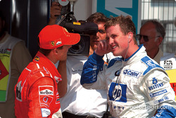 Michael Schumacher and brother Ralf
