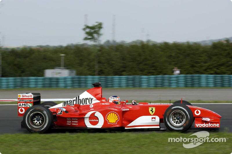 2002: Рубенс Баррикелло, Ferrari F2002