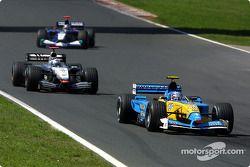 Jarno Trulli et David Coulthard