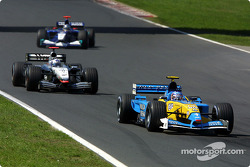 Jarno Trulli et David Coulthard