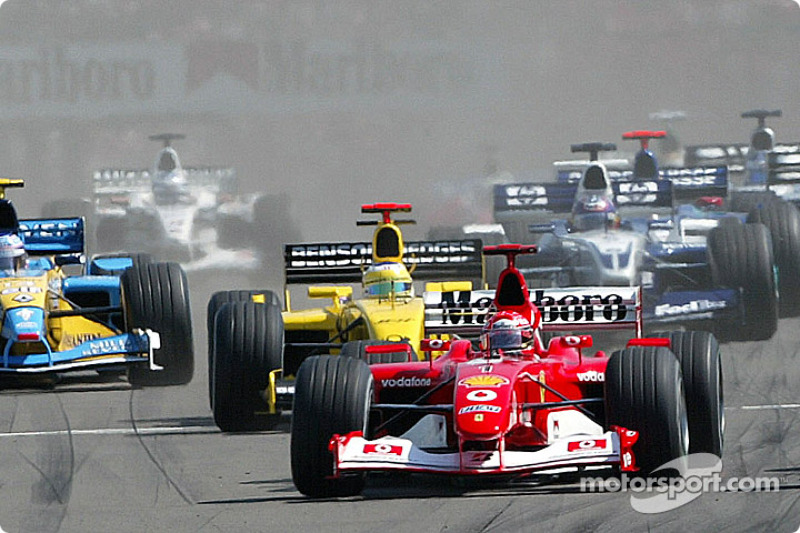 start: Michael Schumacher