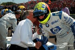 Bernie Ecclestone and Ralf Schumacher