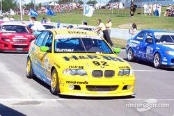 The starting grid: pole winner Will Turner