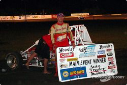 Bud Kaeding led wire-to-wire in Friday night's SCRA Non-Winged World Championship 20-lap feature
