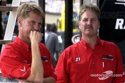 Eddie and Len Wood