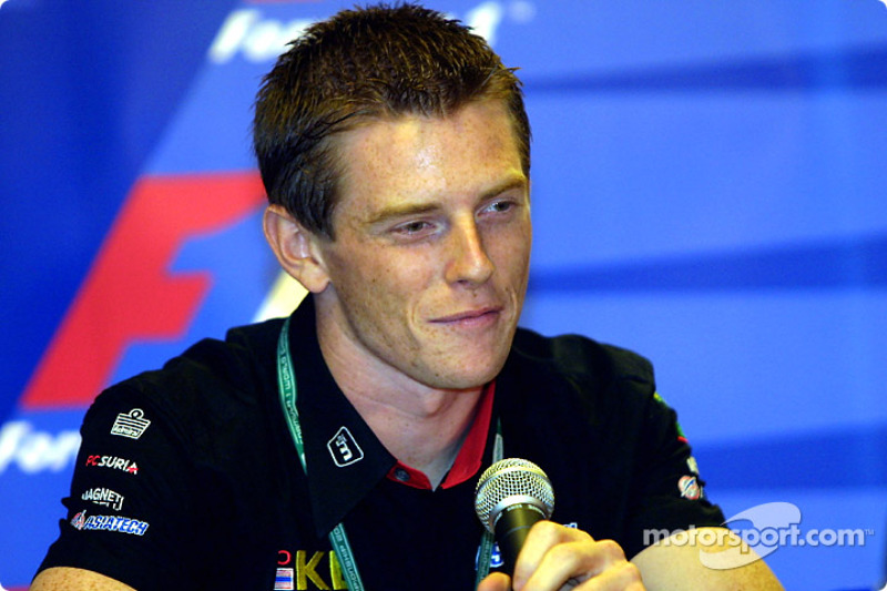 Conferencia de prensa del jueves: Anthony Davidson