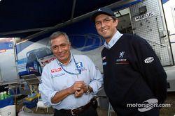 Corrado Provera y Francois Chatriot