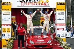 El ganador del rally, Sébastien Loeb