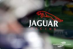 Jaguar pit area
