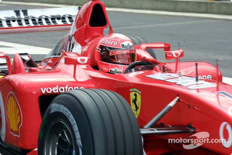 48. Bélgica 2002, Ferrari F2002