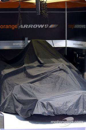 Área de garage de Arrows