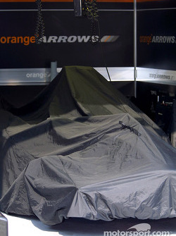Área de garage de Arrows