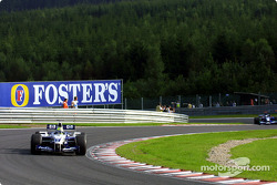 Ralf Schumacher durante la sesión de calentamiento