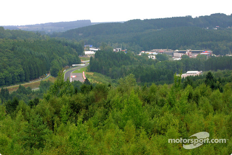 Beautiful Spa-Francorchamps scenery