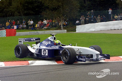 Ralf Schumacher girando