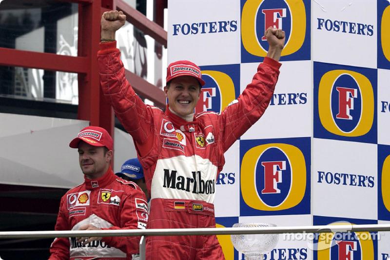 Michael Schumacher es el piloto con más victorias allí, con seis triunfos: 1992, 1995, 1996, 1997, 2001 y 2002.