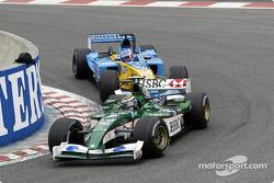 Eddie Irvine y Jenson Button