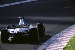 Jacques Villeneuve durante la sesión de calentamiento