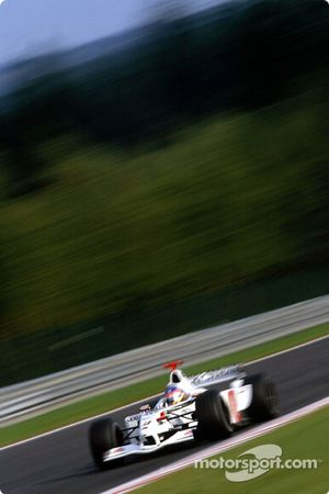 Jacques Villeneuve during the warmup session