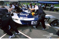 Ralf Schumacher y Juan Pablo Montoya de regreso a los pits