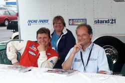 Didier Theys, Linda Mansfield and Mauro Baldi