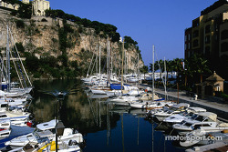 This is where the day starts: a marina in Monaco