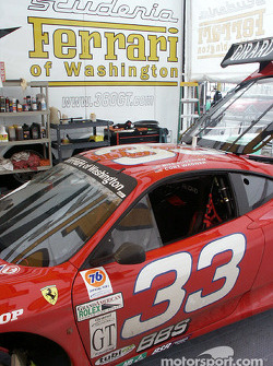 Ferrari 360 GT in paddock