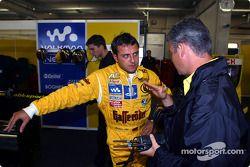 Christian Abt, Abt Sportsline, Abt-Audi TT-R, mit Renningenieur Dirk Spohr