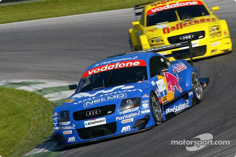 Mattias Ekström, Abt Sportsline, Abt-Audi TT-R; Laurent Aiello, Abt Sportsline, Abt-Audi TT-R
