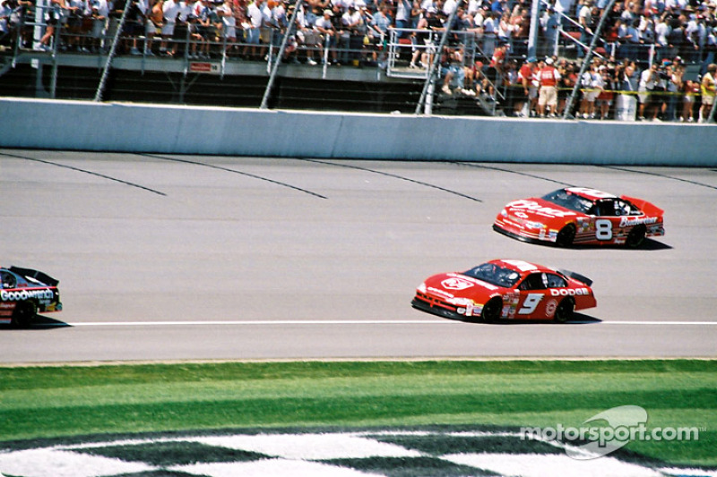 Bill Elliott y Dale Earnhardt Jr.
