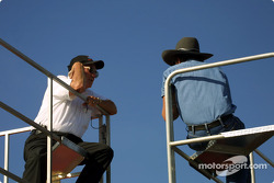 Leonard Wood con Richard Petty