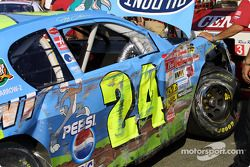 Jeff Gordon's car after happy hour