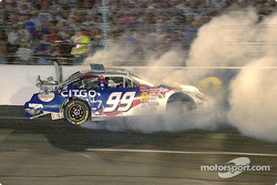 Jeff Burton choca