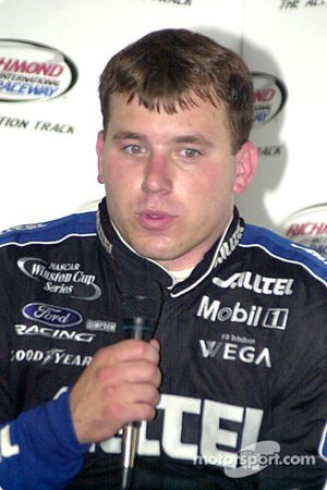 Ryan Newman finished second