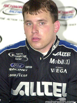 Ryan Newman faces the press
