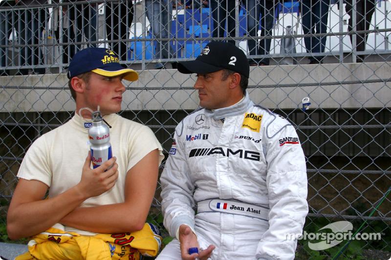 Martin Tomczyk et Jean Alesi
