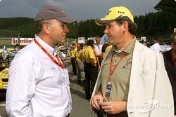 Carl-Peter Forster from Opel and Dr Franz-Josef Paefgen from Volkswagen