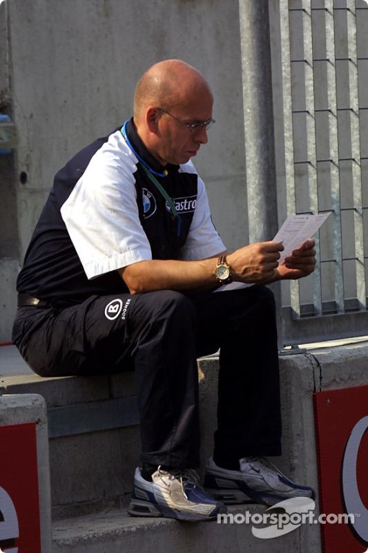 Miembro del equipo Williams-BMW
