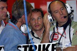 Craig Pollock, Jacques Villeneuve y Jock Clear