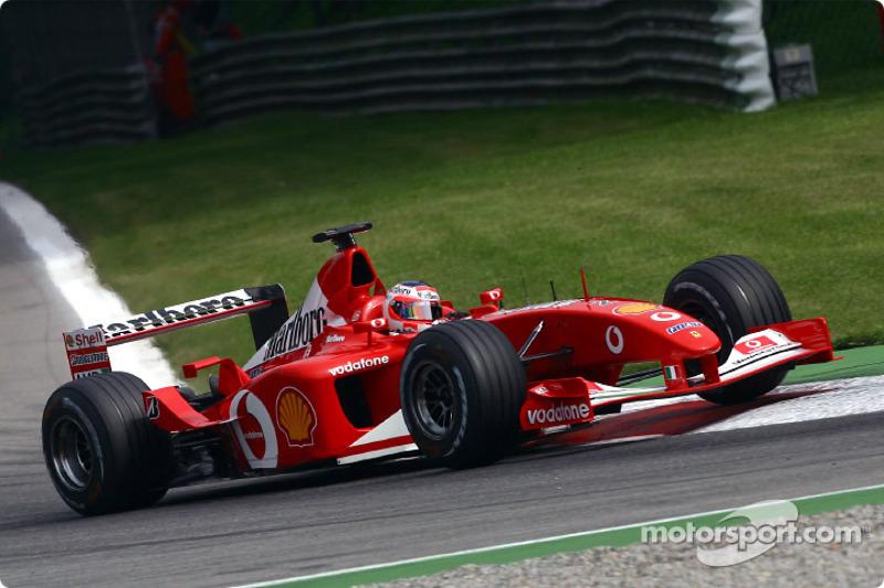 2002: Рубенс Баррикелло, Ferrari F2001