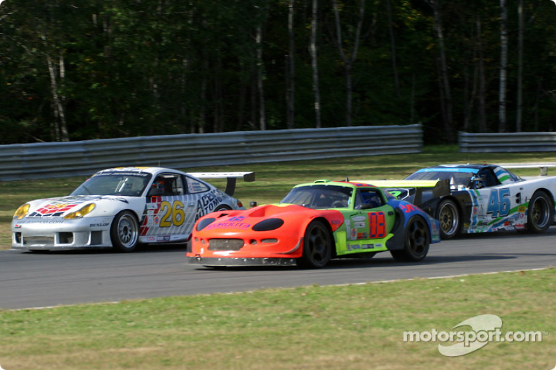 ACEMCO Porsche GT3 R and Marcos Racing USA Marcos Mantis at Mont ...