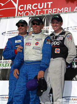 The podium: GS II winners