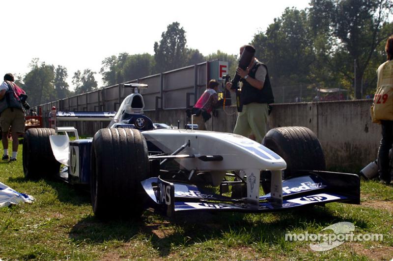 Сход: Ральф Шумахер, Williams-BMW